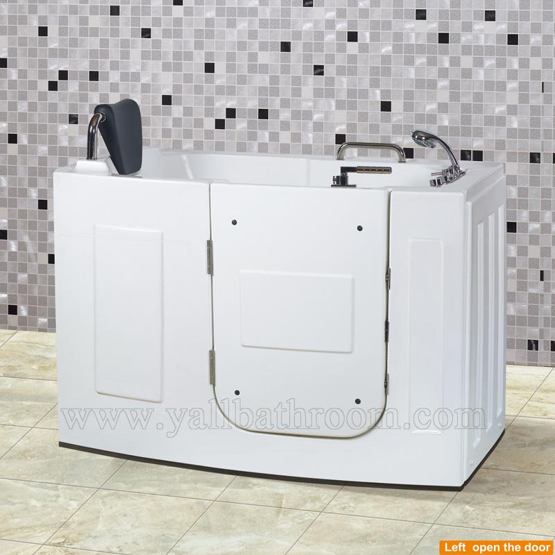 China 107 The Elderly Acrylic Massage Bathtub Walk-in Tub SPA ...
