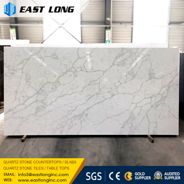 China Polished Quartz Stone Slabs For