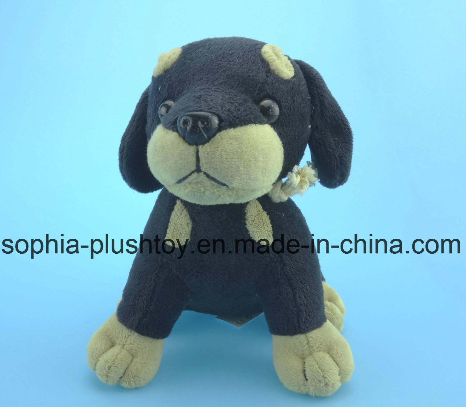 Soft Stuffed Plush Dog Toy 4 Asst. pictures & photos