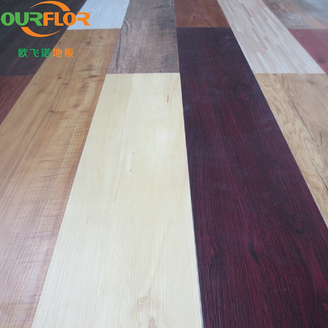 China Multiple Color Choices WPC Click Vinyl Flooring Tiles - China ...