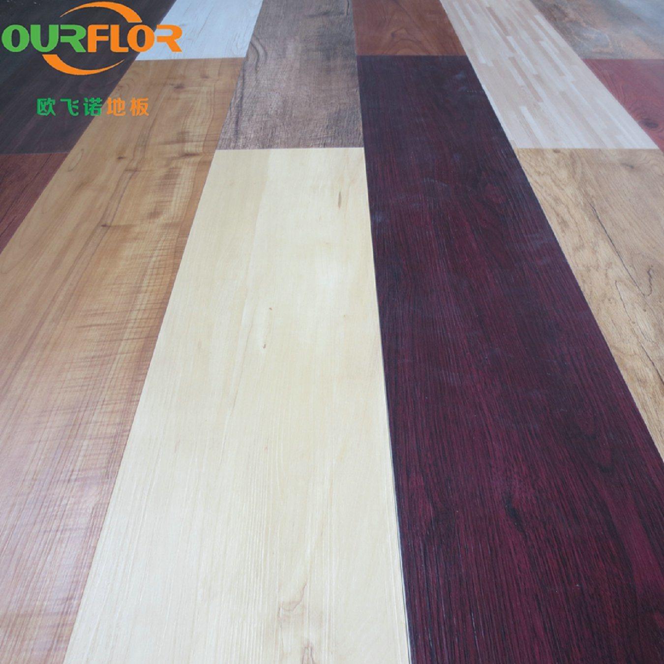 China Multiple Color Choices Wpc Click Vinyl Flooring Tiles Floor Tile