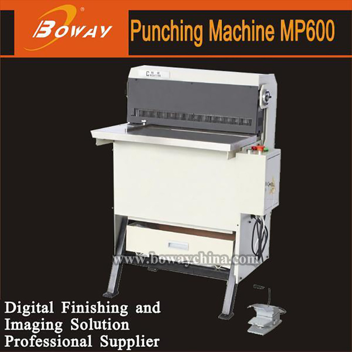 Manual MP-600 Book Binding Hole Punching Perforating Machine pictures & photos