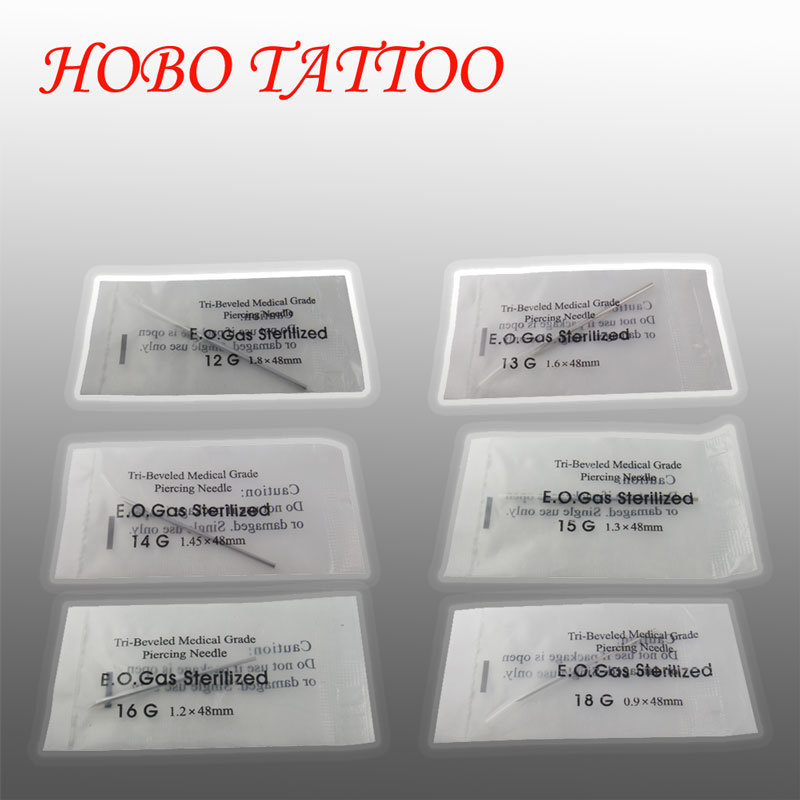 China Tattoo Sterile Body Piercing Needle Piercing Tools Tattoo ...