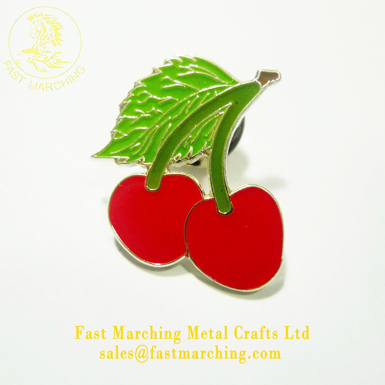 Enamel Poppy Pins