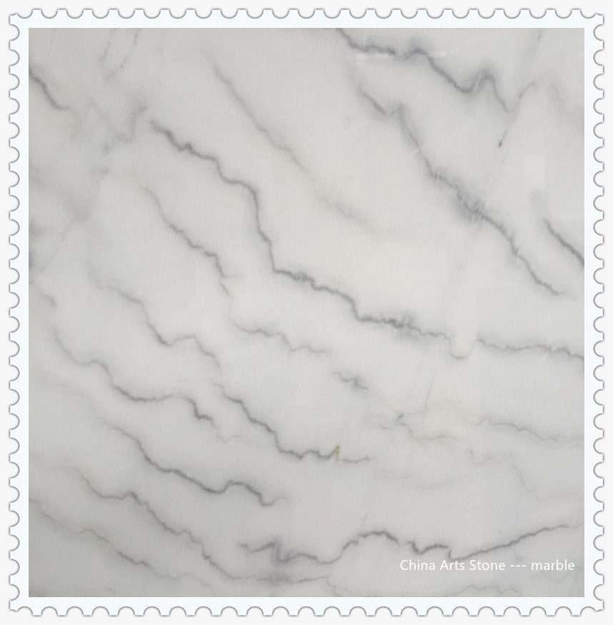 Chinese White Marble Slab For Tiles And