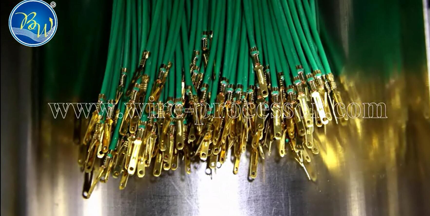 China Cable Wire Harness Equipment Double Ends Crimping Machine