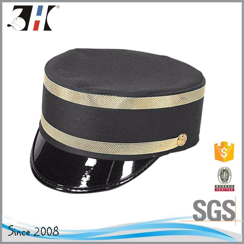 China Wholesale Customized High Quality Cheap Train Conductor Hat ... b081566147df
