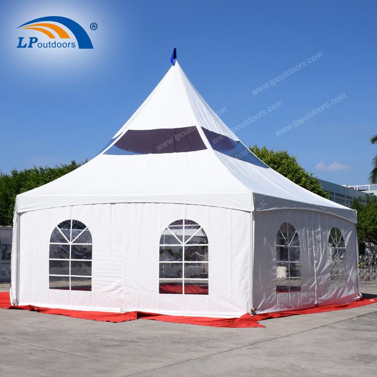 hot sale online a15e1 da004 [Hot Item] Kenya Style Hexagon Peak Frame Alpine Tent for Party Event