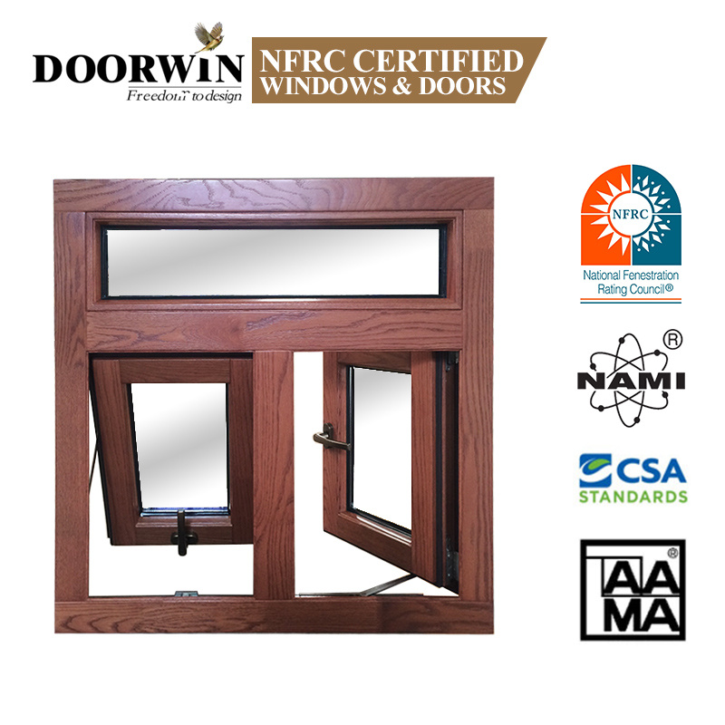 China Canada Toronto Top Sale Aluminum Cladding Solid Wood Awning Window For Bathroom Kitchen House Home Windows China Latest Window Design Aama Windows