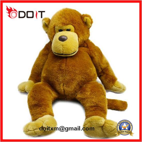 China Soft Stuffed Monkey Orangutan Plush Animal Toys Plush Monkey