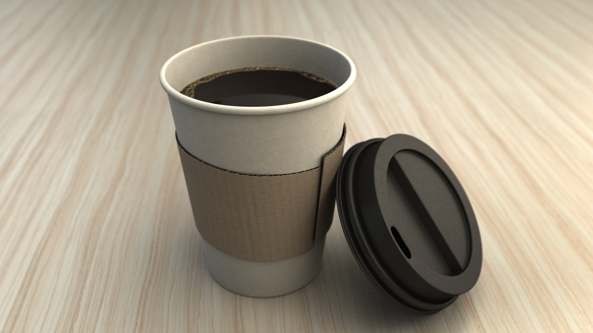 China Coffee Paper Cups With Lids Wholesale