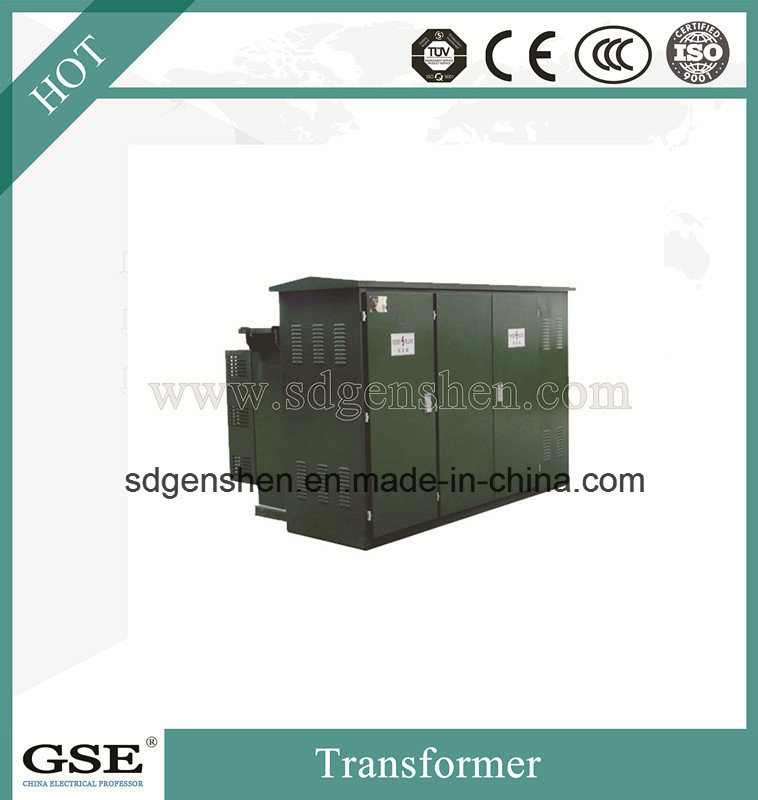 Zgs11 Substatbion Combined Three-Phase Oil-Immersed Type Power/Distribution Transformer