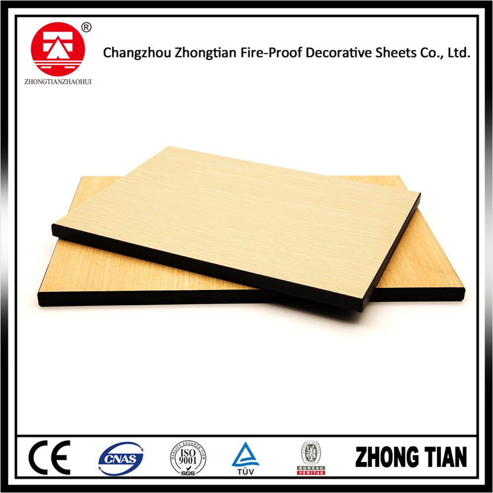 China Decorative Wall Covering HPL Sheet - China HPL Laminate Sheet ...