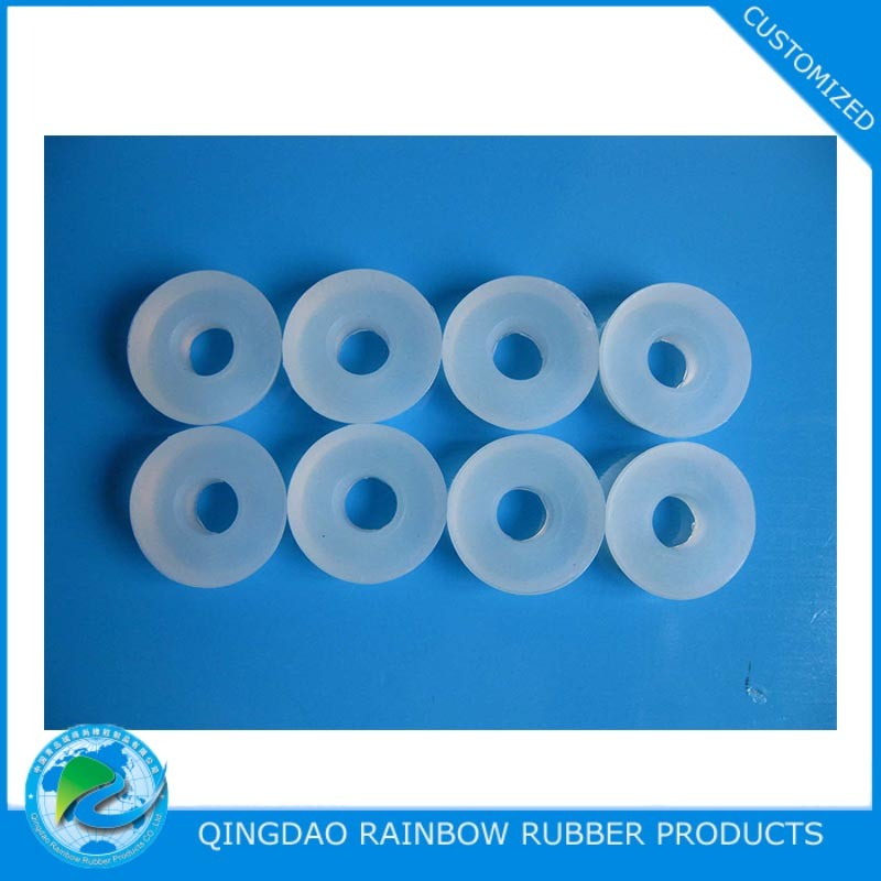 China Customized Clear Silicone Washer / Spacer - China Clear ...
