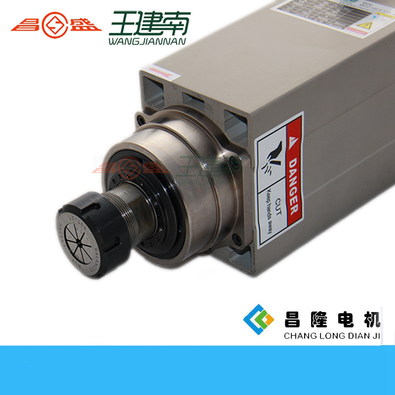 6kw 24000rpm 12A High Speed High Frequancy Air Cooling Spindle for Wood Carving pictures & photos