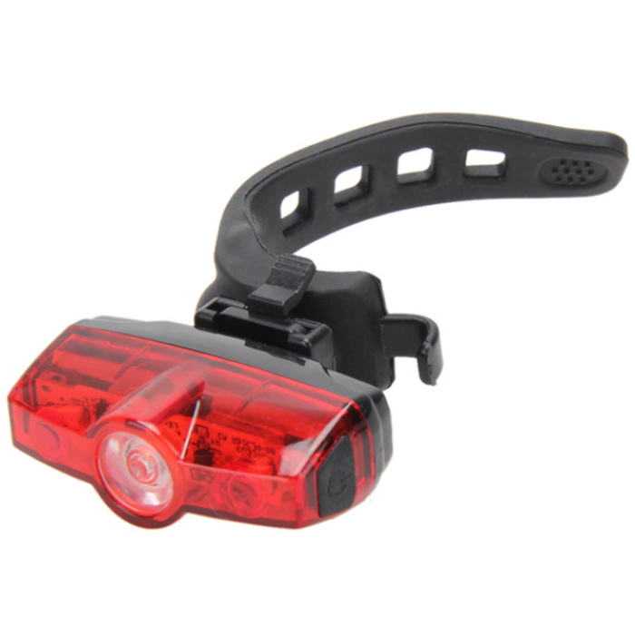 Bicycle Bike Cycle LED 3-Mode Red Rear Tail Back Light Lamp for Riding Safety