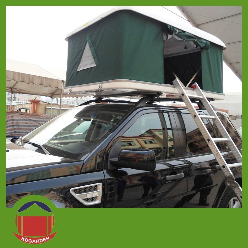 [Hot Item] Fibreglass Material Hard Shell Roof Top Tent