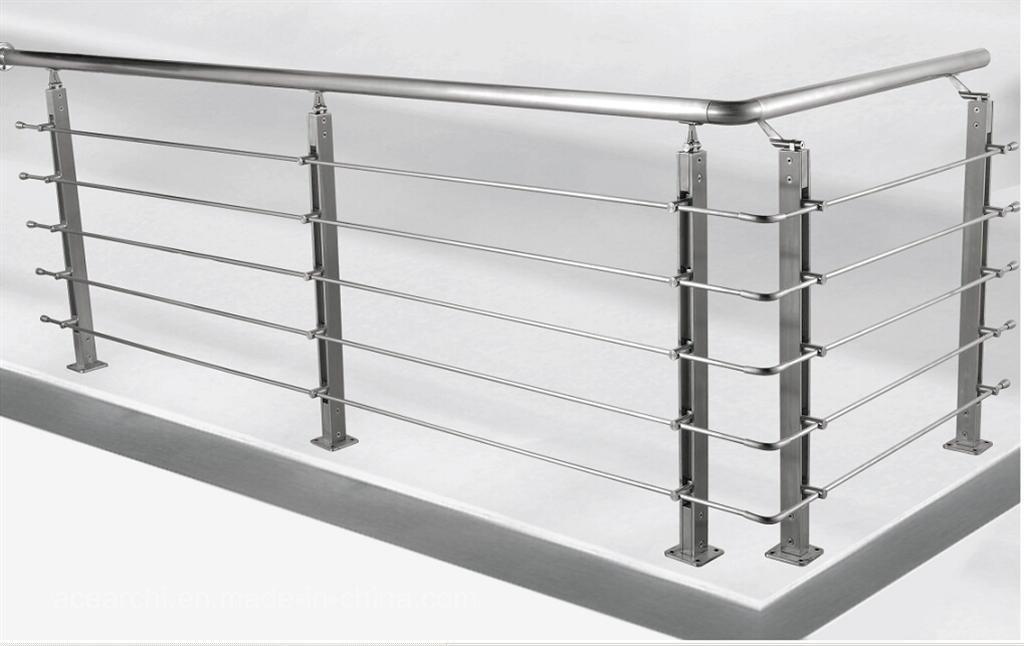 China Stainless Steel Rod Balustrade/Horizontal Bar ...