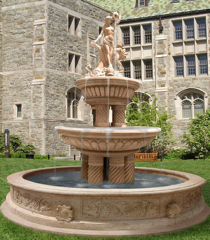 5 Unique Stone Garden Fountains   Carved Stone Creations