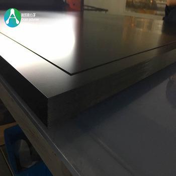 China Thermoforming Opaque Plastic Black Matt Rigid PVC