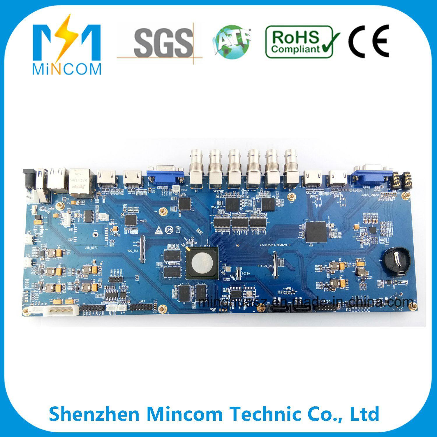 Wholesale Printed Circuit Pcb Buy Reliable Boardrf4 Oem Multiplayer Board Customized For Electronics