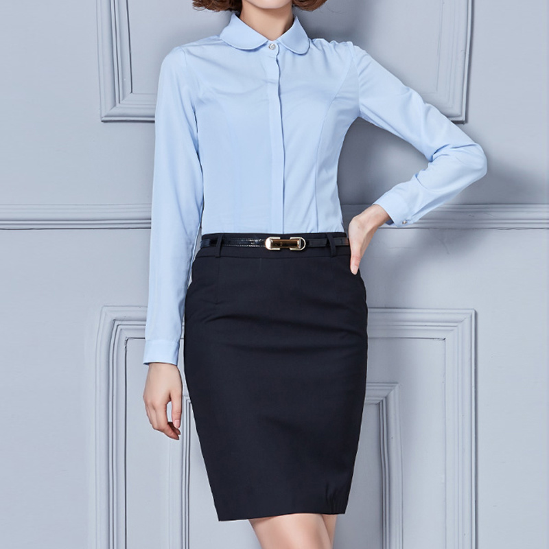 Women Formal Shirts Office Wear Las