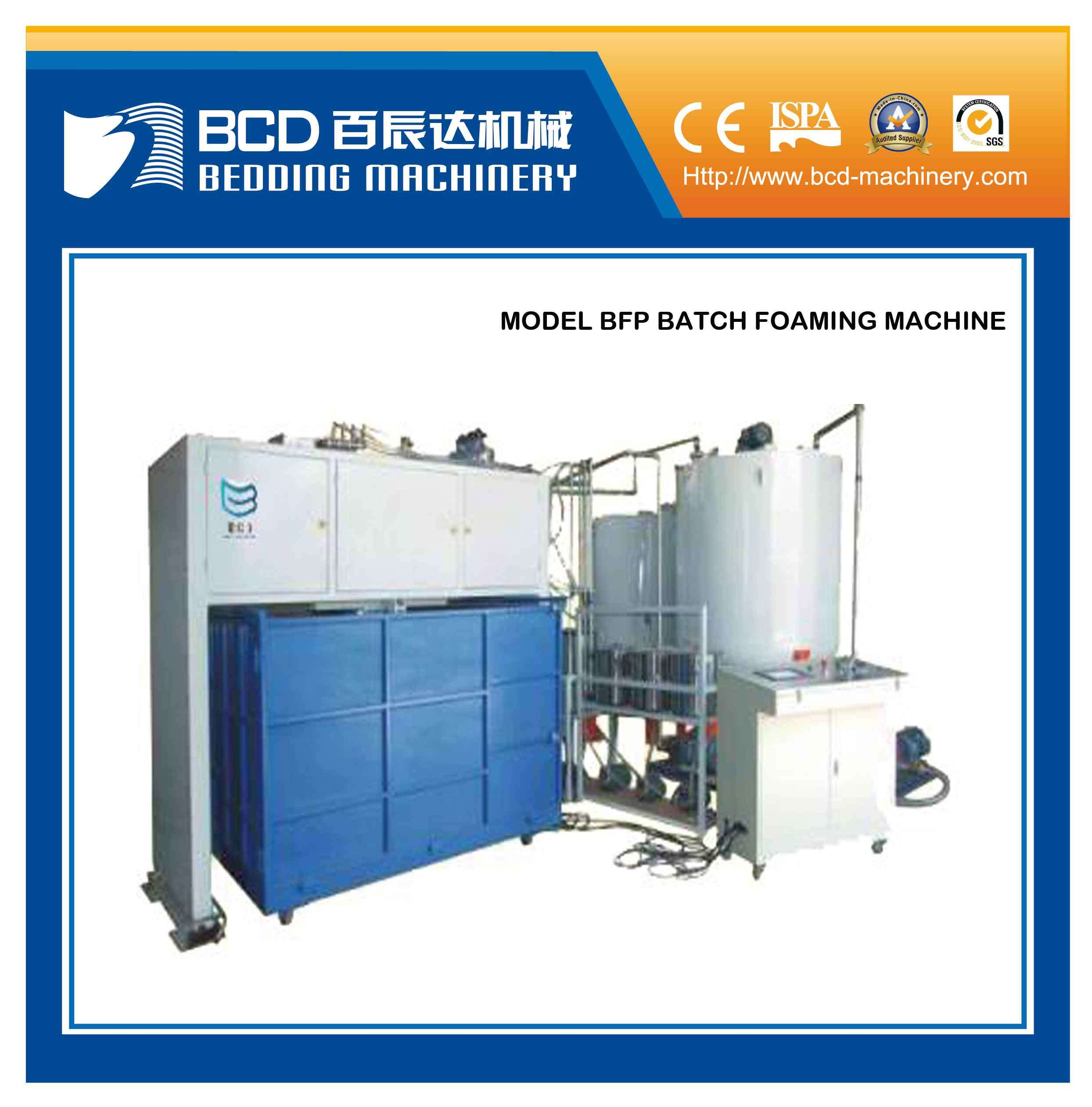 Batch Foaming Machine (BFP batch foaming)