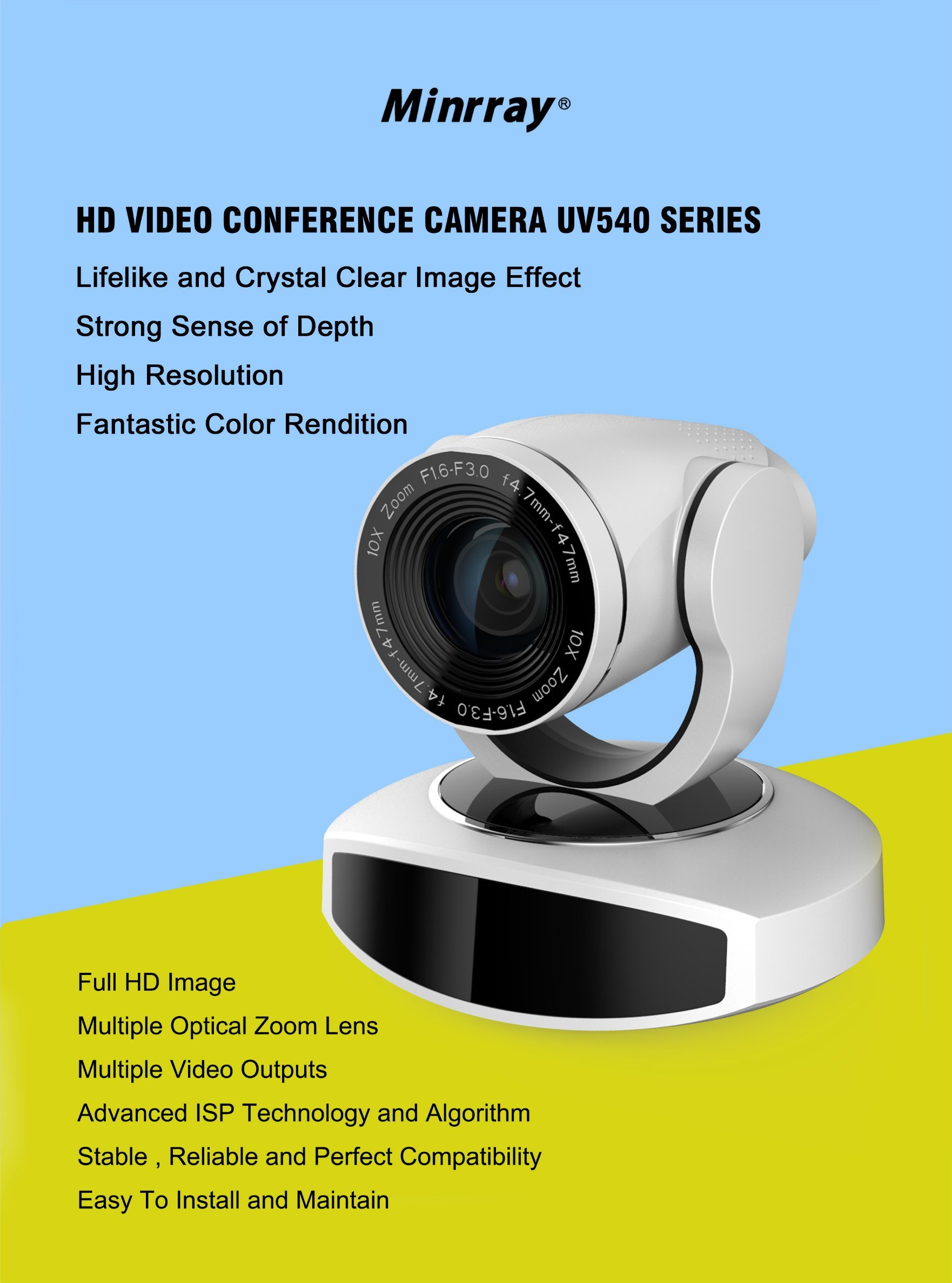 [Hot Item] Sdi LAN RS232 5X Optical Zoom PTZ Video Conference Camera for  Skype