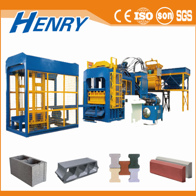 Qt4-20 Automatic Cement Brick Making Machine, Concrete Hollow Paver Block Making Machine in Construction Machinery pictures & photos