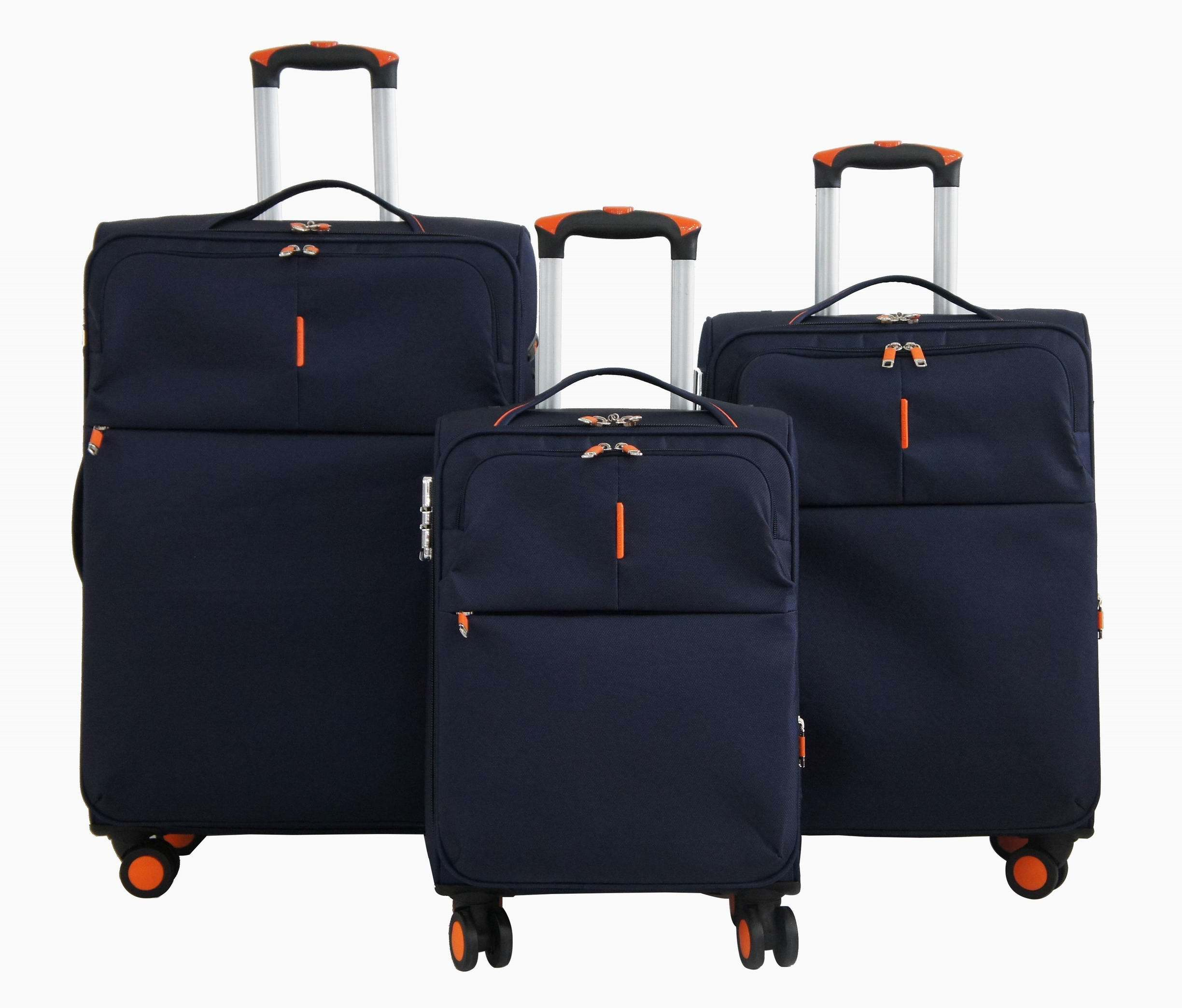 Nylon Soft Trolley Case Luggage Bag Suitcase 1jb011