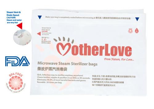 China Microwave Steam Sterilizer Bags
