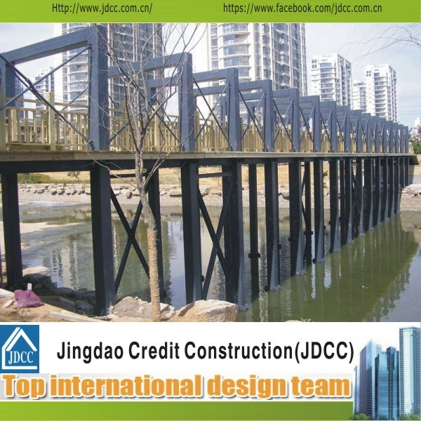 Ce ISO Design Steel Structure Bridge