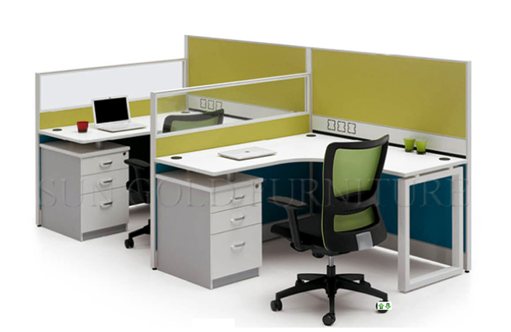 China Office Cubicle Design Small Office Partition Sz Ws110 China Office Furniture Modern Office Desk