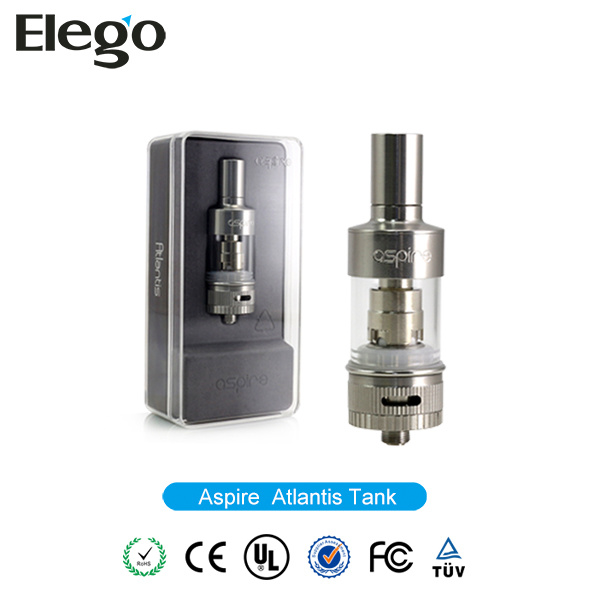 Wholesale E-Cigarette Atmizer Aspire Atlantis Tank with 2ml Capacity
