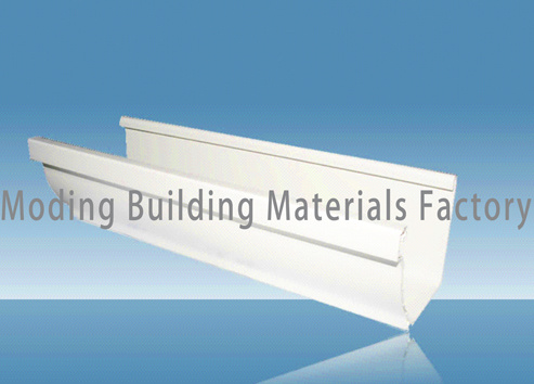 China Pvc Rain Gutter For Roof Drainage M001 Pvc Pipe