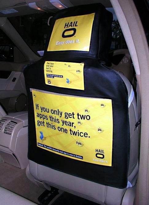 Car Seat Advertising