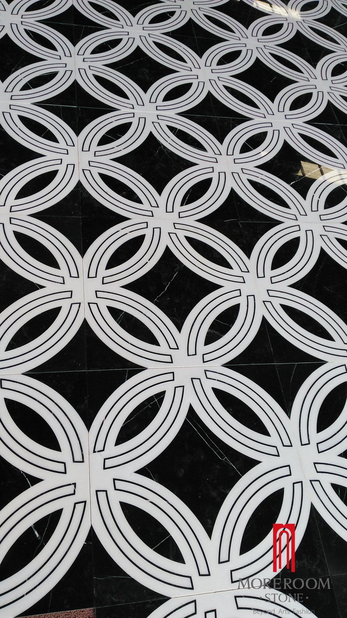 China Black And White Color Marble For Living Room Classic Marble Design Photos Pictures Made In China Com