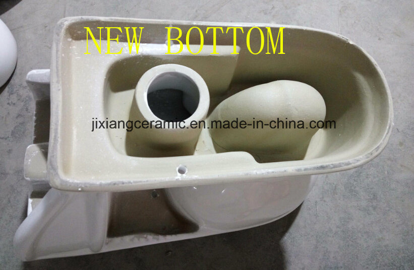 Hot Ceramic One-Piece Toilet 20# Washdown with Saso