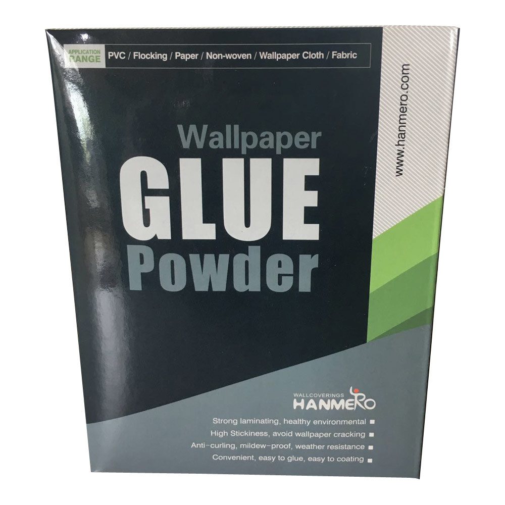 China Low Price Rice Adhesive Glue Powder For Pasting Wallpapers