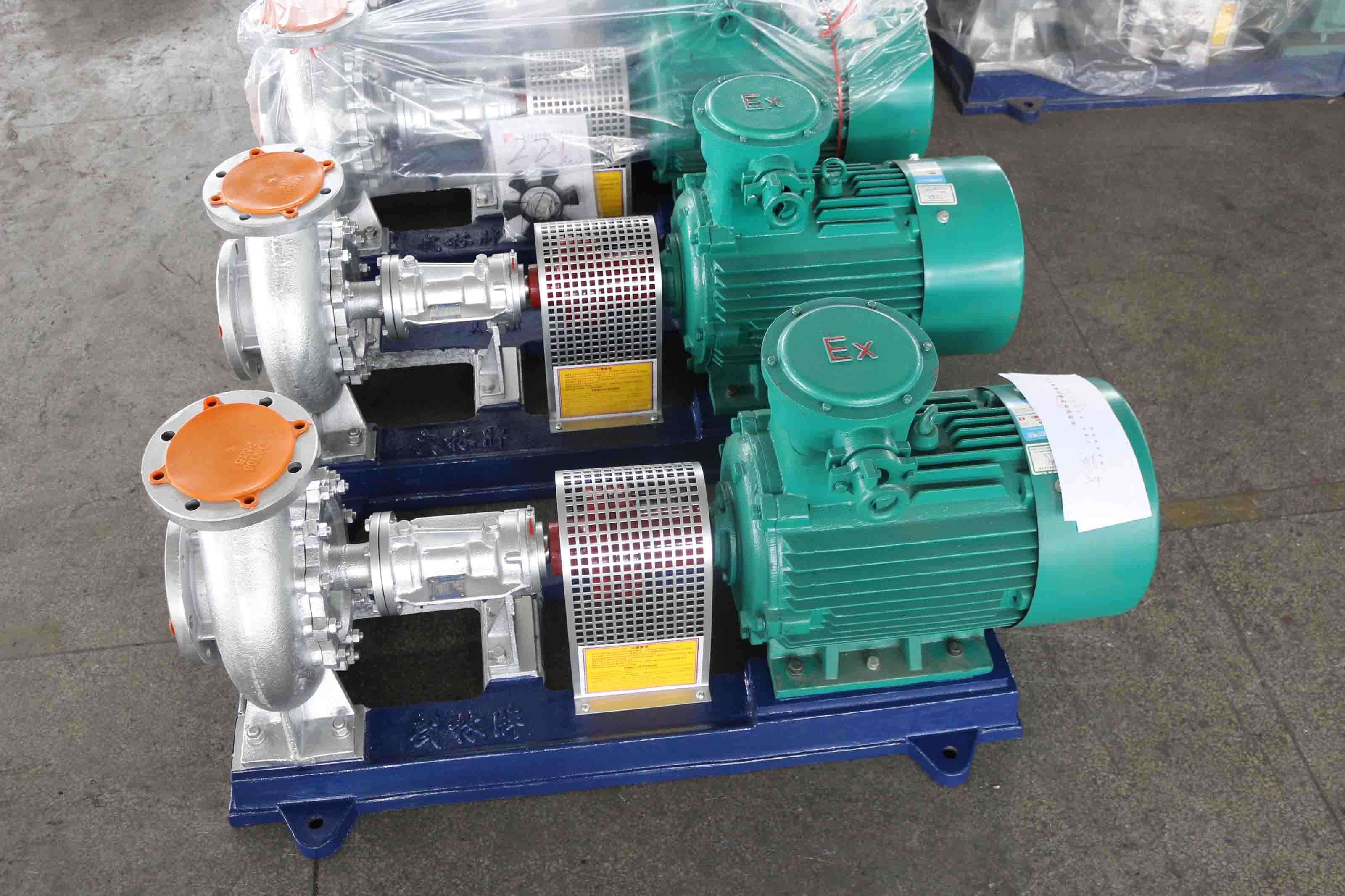 China Thermic Fluid Pump for Thermic Oil Boiler (WRY) - China Hot ...