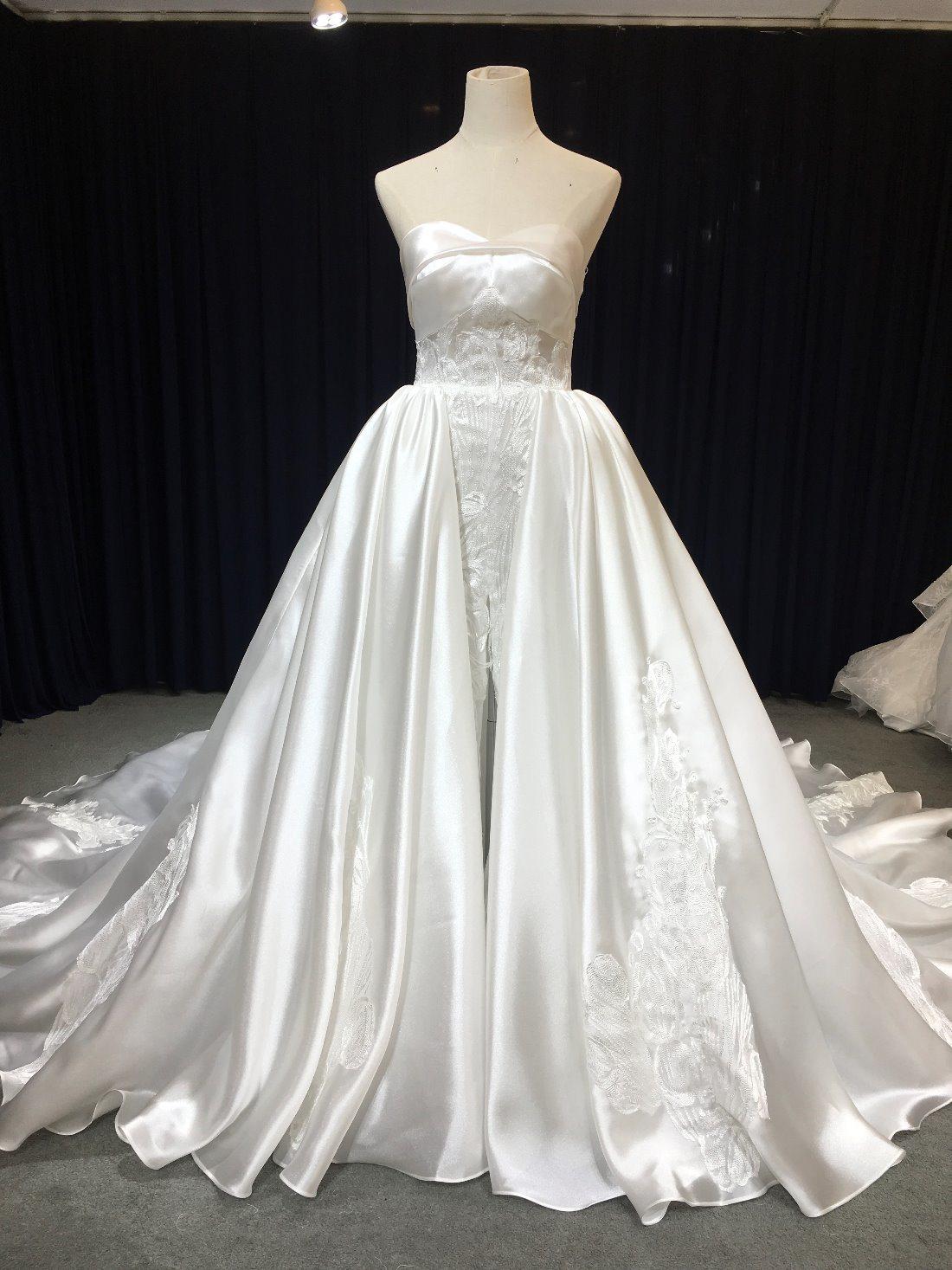 China Aoliweiya Custom Made Sketch 2 in 1 Wedding Dress - China ...
