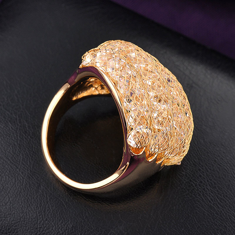 China Hot Sale Ladies Fashion Jewelry Gold Finger Ring Design for ...