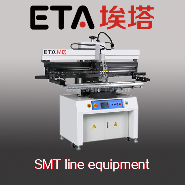 SMT Assembly Line SMD Stencil Printer for LED Long Board pictures & photos