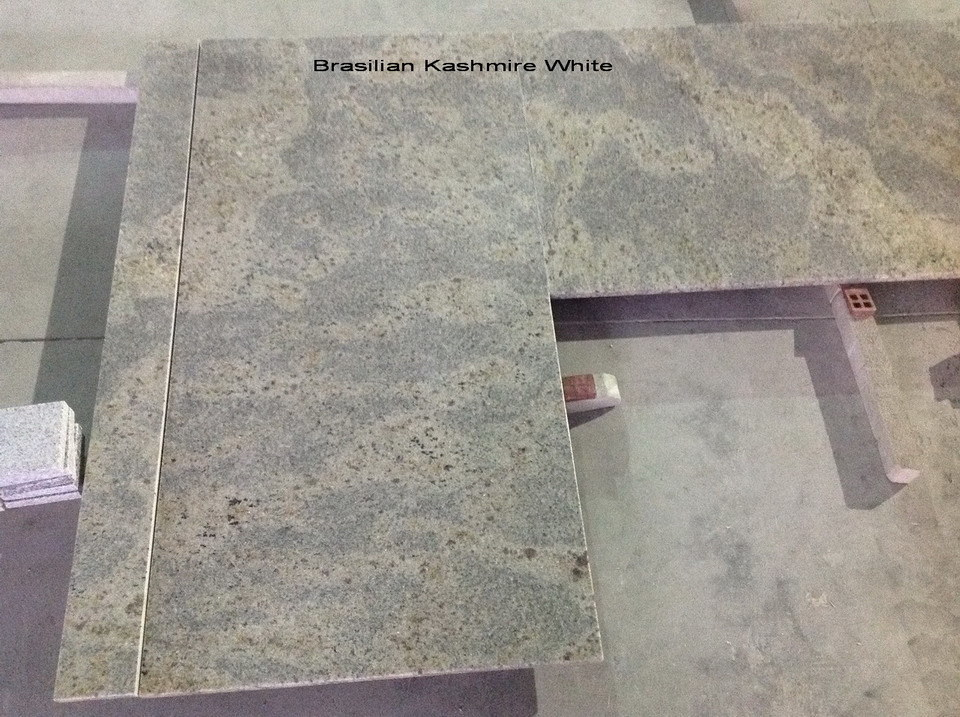 New Kashmir White Granite Countertops for Kitchen/Bathroom (YY- GC007) pictures & photos