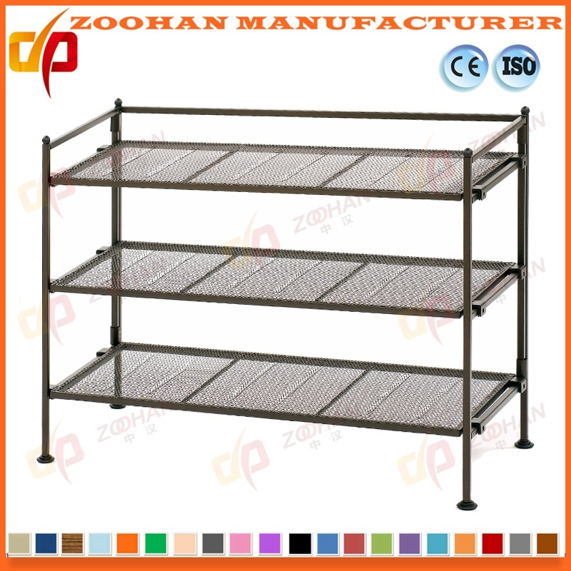 China Adjustable Metal Chrome Shoe Storage Rack Wire Shelving ...