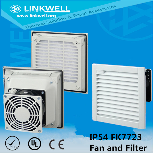 Electrical Control Cabinet Exhaust Fan Filter (FK5521)