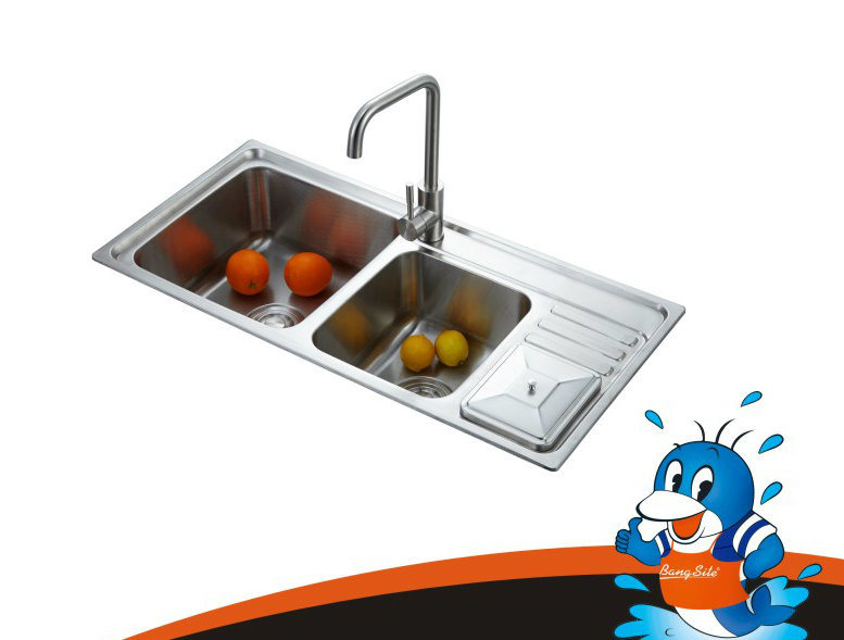 Sink Tap Modell : China great model new kitchen sink stainless steel one