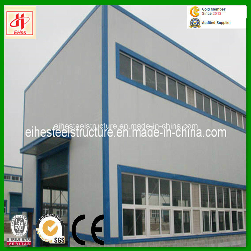 China Prefabricated Metal Beam Building Warehouse for Industrial Sheds pictures & photos