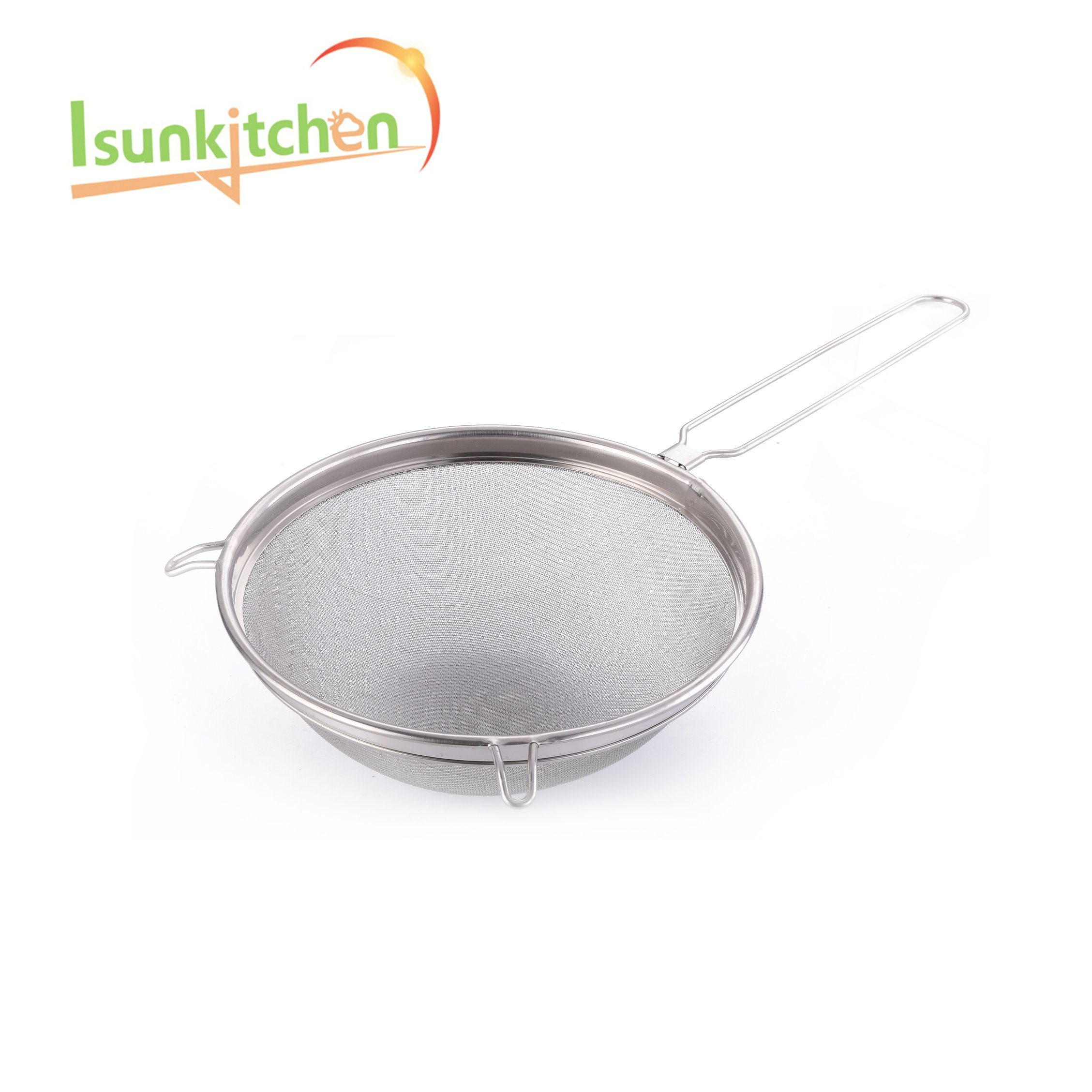 Stainless Steel Strainer Industrial for Kitchenware Stainless Steel Soup Filter Strainer Round Mesh Strainer pictures & photos