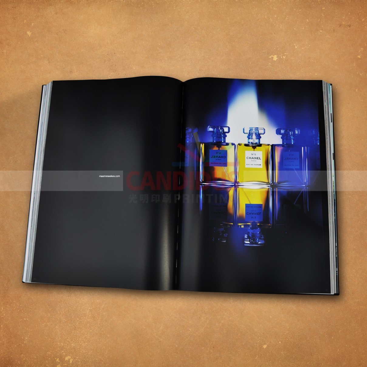 China Big Coffee Table Book Printing Hardcover Photography Book